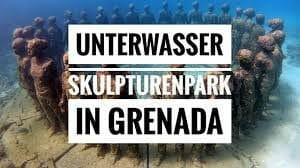 Unterwasser Skulpturen Park